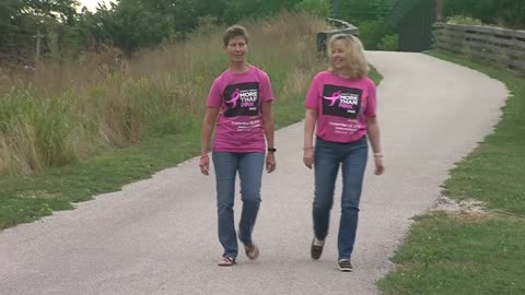 Breast cancer survivors bond through participation in Komen events